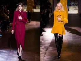 Carven RTW Fall 2014: Classic Styles and Sexpot Shoes In a Contemporary Collection