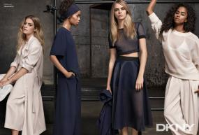 Cara Delevinge Fronts DKNY's Resort 2015 Campaign Looking Too Cool for School