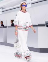 Chanel Airlines Now Boarding: Lagerfeld Reimagines French Travel for S/S 2016