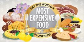 Infographic: A Look at the World's Most Expensive Foods