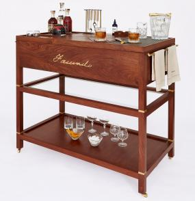FACUNDO Rum Collection, Bar Cart