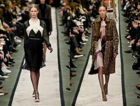 Givenchy RTW Fall 2014: Riccardo Tisci's Progressive Plunge Into Feminine Fashion