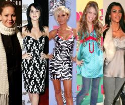Before & After: See the Style Transformations of All Your Favorite Trendsetting Celebrities