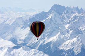 Book a Once-in-a-Lifetime Balloon Expedition Over Mt. Everest