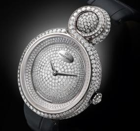 Jaquet Droz's Newest Addition to the Lady 8 Collection Glitters With 1,160 Diamonds