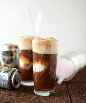 Minimalist Baker, root beer float recipe
