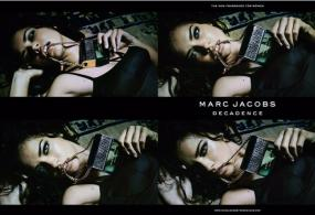 Adriana Lima is the Face of Decadence, the Sultry New Fragrance From Marc Jacobs