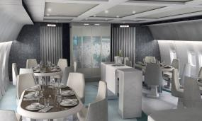 Inside Crystal Cruises' Extravagant New Private Jet