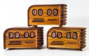One-of-a-Kind Vintage Nixie Tube Clock Brings History to Your Bedside