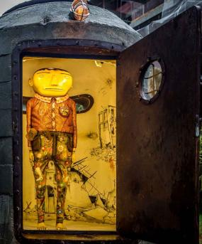Artists Os G?meos Traps Mankind in Bunker With the Sun For New Brazilian Installation