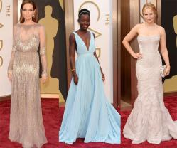 Is Nude the New Black? A Few of Our Fave Looks from the 2014 Oscars