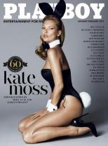 Kate Moss' Naughty Playboy Spread is Totally NSFW