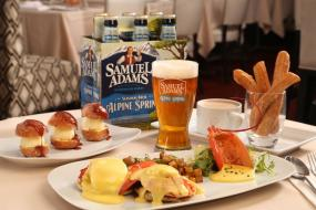 Hops-Infused Brunch Recipes from Samuel Adams
