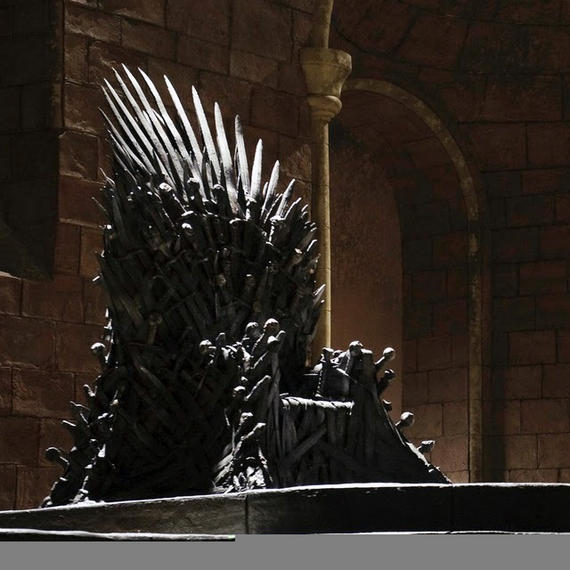 The Ultimate Statement Game Of Thrones Replica Throne
