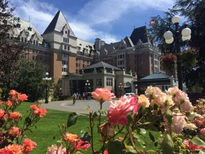 The Return of Victoria's Queen—The Fairmont Empress Receives a Royal Reception