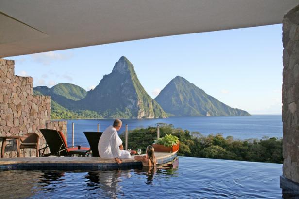 Jade Mountain Couple