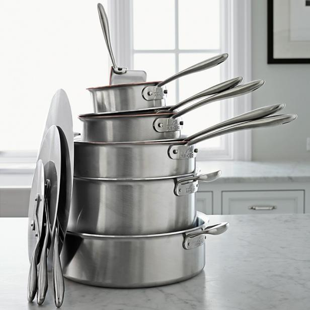 Chef Thomas Keller's 11-Piece All-Clad TK Inspiration Cookware