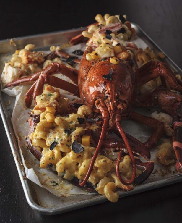Barton G., Lobster Truffle Mac & Cheese