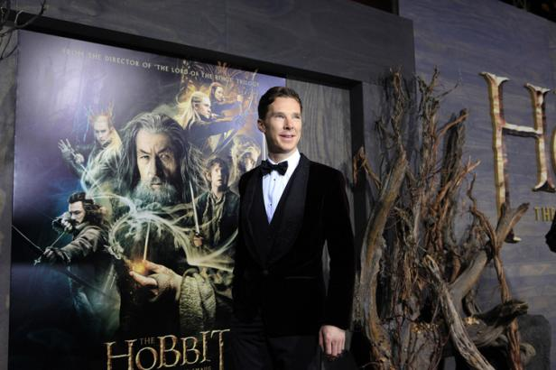 benedict cumberbatch hobbit desolation of smaug