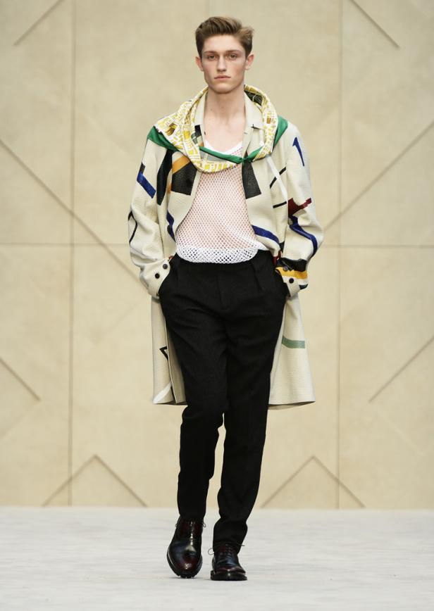 Burberry Prorsum Men's Fall/Winter 2014