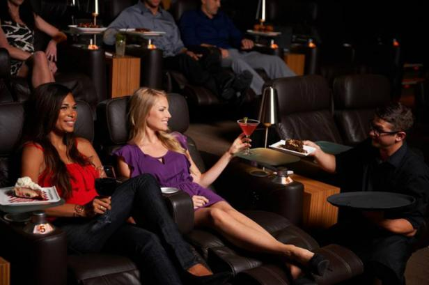 Luxury Cinemas Reinvent Movie-Watching With Gourmet Food, Cockt