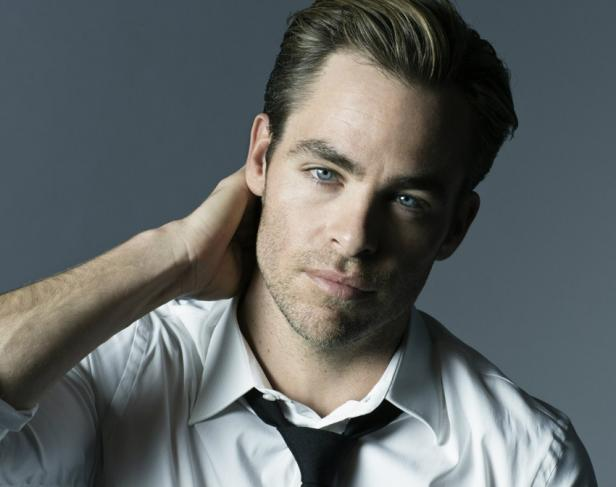 Chris Pine for Giorgio Armani