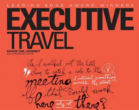 Executive Travel magazine