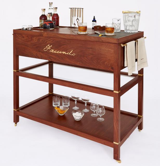 FACUNDO Rum Collection, Bar Cart
