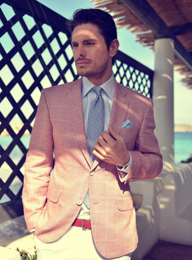 Gagliardi SS13 Menswear Chambray Suit