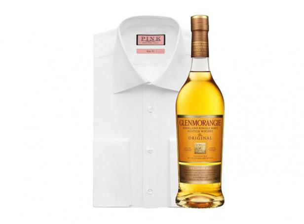 Glenmorangie whiskies and Thomas Pink shirts