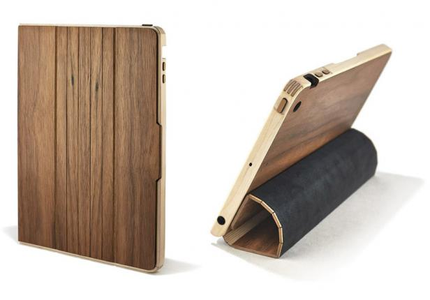grovemade ipad case walnut