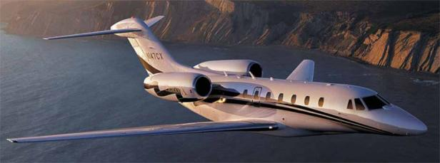 Citation X super midsized jet