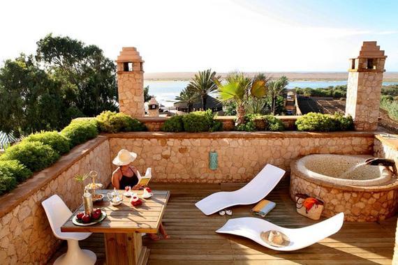 A romantic couples retreat in morocco - Jardin marocain terrasse ...