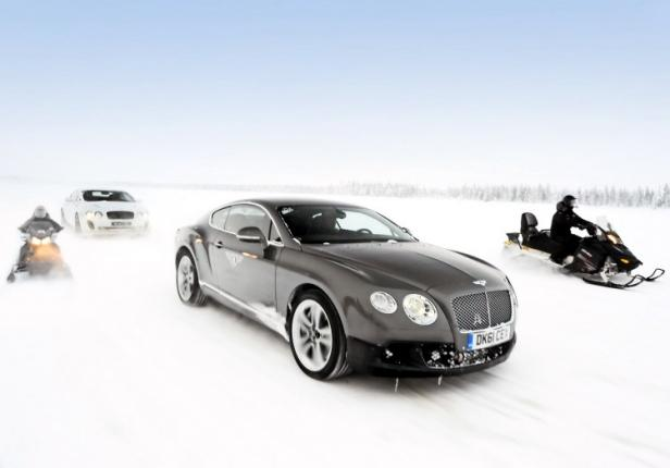 bentley Power on Ice event