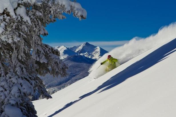 Skiing on Vail Mountain