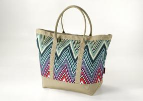 Blue Missoni Tote for Seaside Luxe