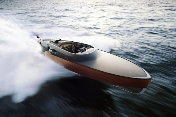 Claydon Reeves Debuts Rolls Royce-Powered Aeroboat Inspired by