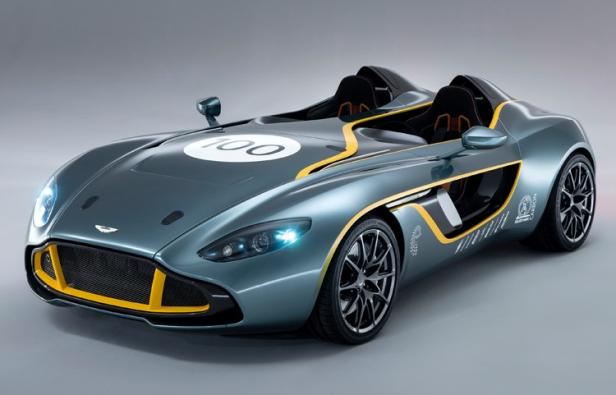 Aston Martin Celebrates Centenary with CC100 Speedster Concept