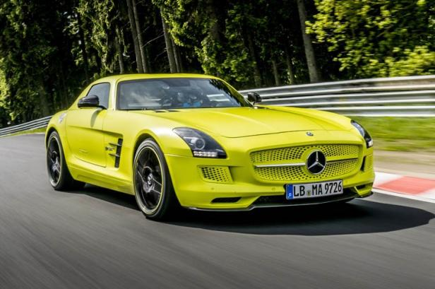 Mercedes-Benz SLS AMG Electric Drive is the World's Fastest Ele