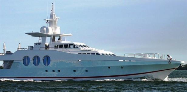 Pharrell Williams' Wedding Yacht