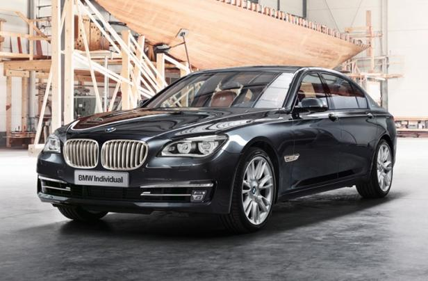 BMW Individual Crafts Sterling Edition 760Li with Robbe & Berki
