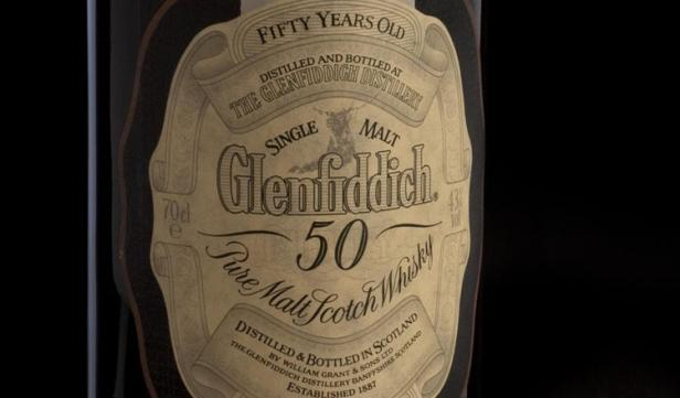 Glendiffich 50 Sells for Over $22k at Bonhams Whisky Sale in Ed