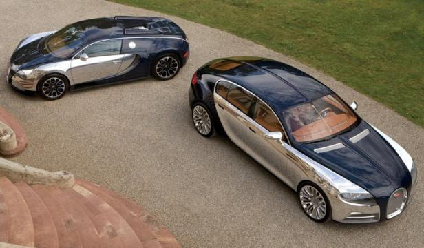 Bugatti Veyron and Galibier