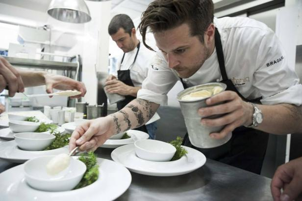Chef Yves Le Lay,P�daste Manor