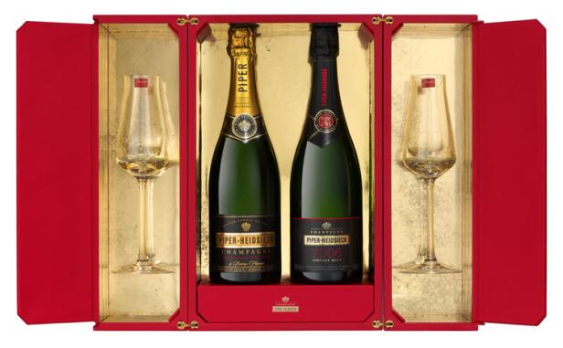 Piper-Heidsieck and Baccarat Team Up For Exclusive Champagne Gi