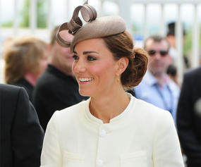 kate middleton godmother of royal princess