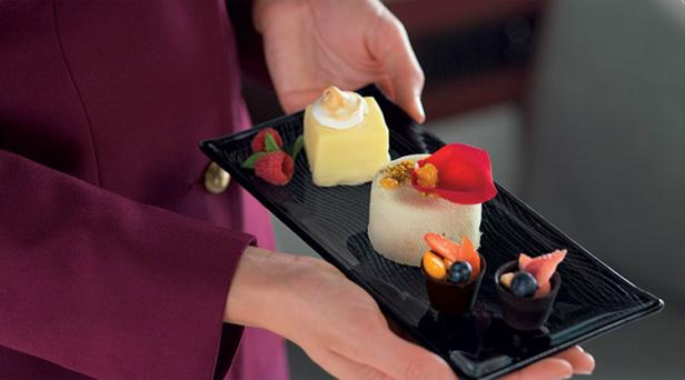 qatar airways gourmet food menu