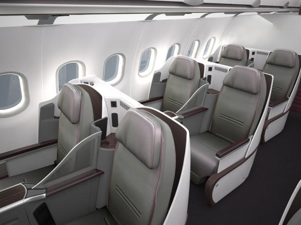 Qatar Airways  All-Business Class Airbus A319