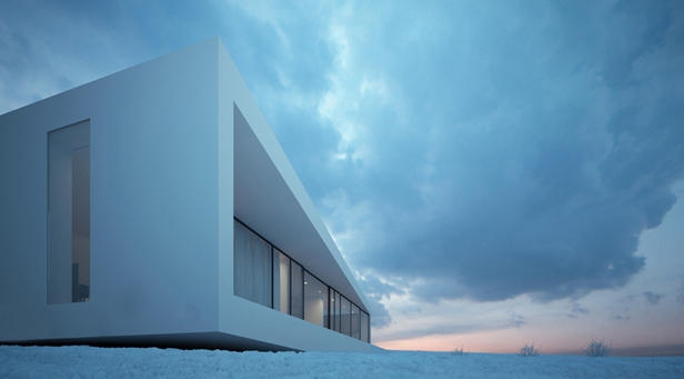 Reykjav�k House Disappears Into The Icelandic Landscape