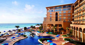 Ritz-Carlton, Cancun exterior